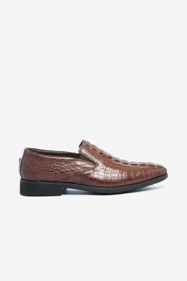 Giày nam da cá sấu 830
