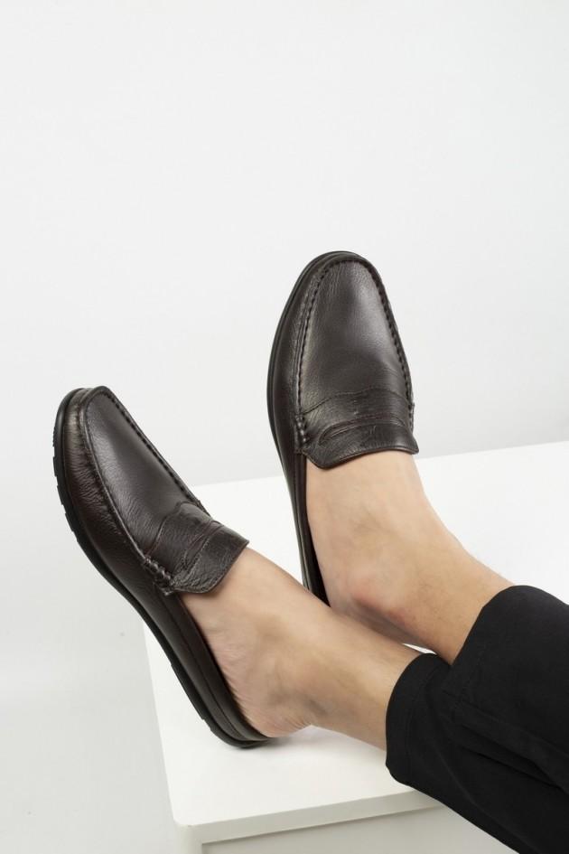 Giày sục nam da bò After 5 PM  - CALM 770124501