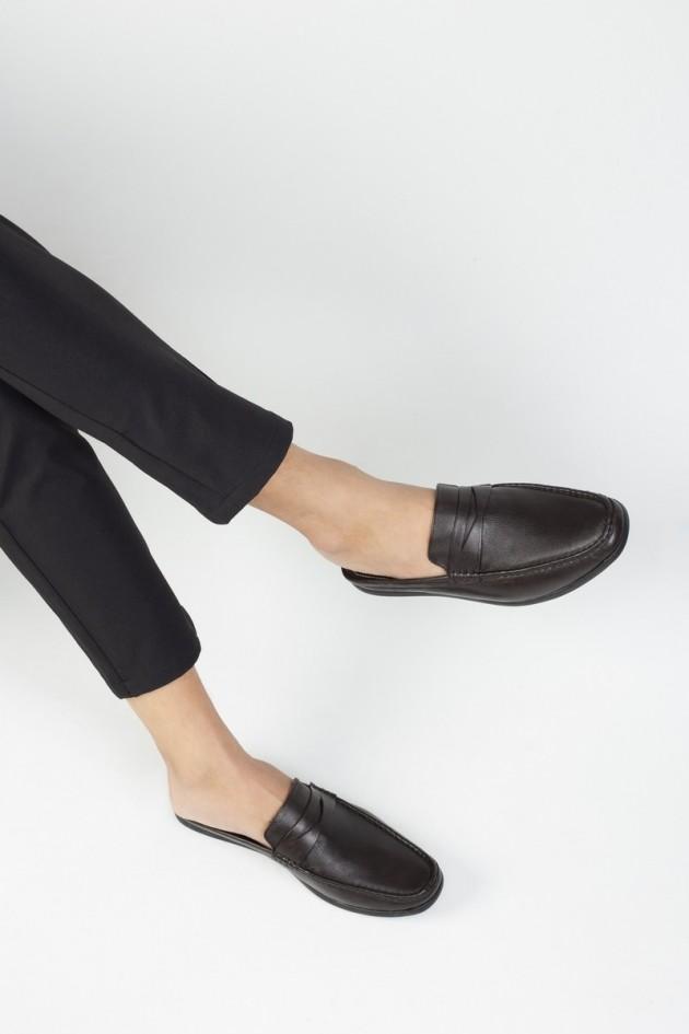 Giày sục nam da bò After 5 PM  - LAZ 770154501