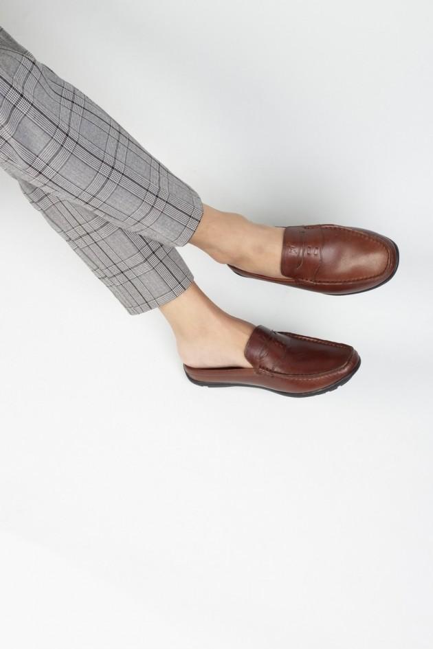 Giày sục nam da bò After 5 PM - CALM 770122401